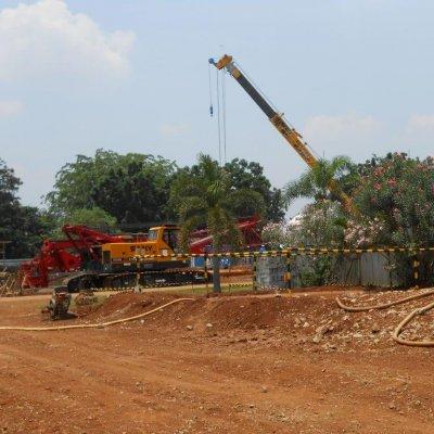 Proyek Bored Pile Palembang